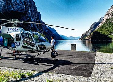 Helicopter - film og foto fra lufta