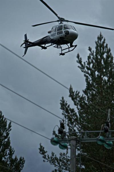 For toppbefaring er turbinhelikoptere de mest effektive.