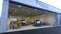 Ny Pegasus hangar Sola